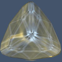 Clear Quarts Faceted F003